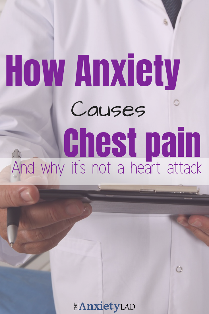 Anxiety Chest Pain Pinterest Image