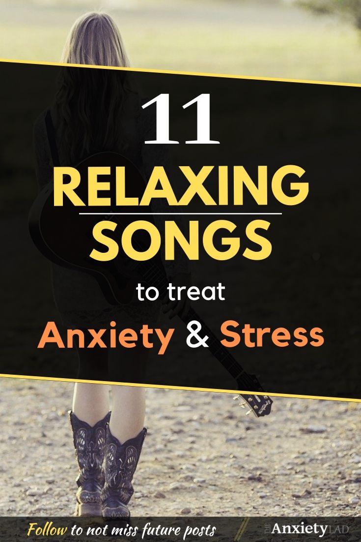 Relaxing Songs Pinterest Image