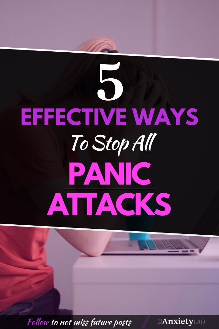5 Effective Ways to Stop Panic Attacks Pin Image